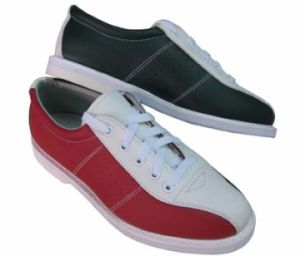 Brunswick Style Leather Bowling Shoes pictures & photos