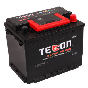 56212mf 12V62ah Maintenance Free Car Battery for DIN Standard with RoHS/CE/Soncap