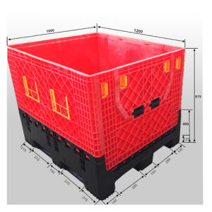 Collapsible Plastic Pallet Box From China pictures & photos