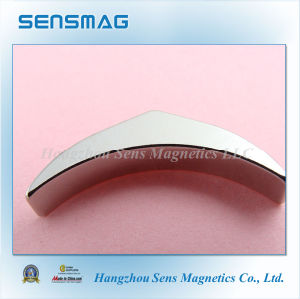 Difficult Crescent-Shaped Permanent NdFeB Magnets with RoHS pictures & photos