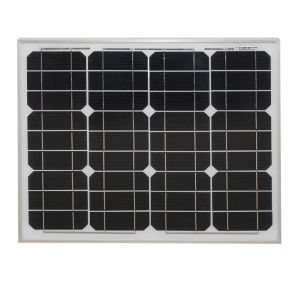 12V Solar Panel Mono 30W for Charging Battery pictures & photos