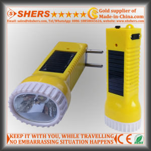 Solar Rechargeable 1W LED Torch for Searching, Hunting (SH-1934) pictures & photos