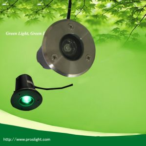 Energy Saving 1W 12V LED Recessed Light for Gardens/Streets pictures & photos