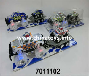 Hot Sale Plastic Toys Friction Car Vehicle Toy (7011106) pictures & photos
