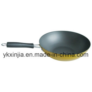Kitchenware Aluminum Wok with Non-Stick Coating Cookware pictures & photos