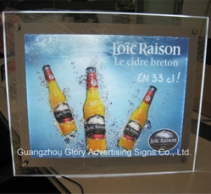 Wholesale Price Crystal Acrylic LED Light Box Factory pictures & photos