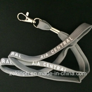 High Quality Tubular Lanyard with Printed Logo pictures & photos