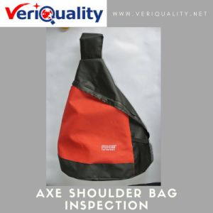 Axe Sling Bag/Axe Shoulder Bag Quality Control Inspection Service at Tianchang, Anhui pictures & photos