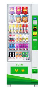 Automatic Vending Machine for Candy&Drinks&Snacks pictures & photos