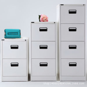 Gray Office Furniture 4 Drawer Steel Filing Storage Cabinet pictures & photos