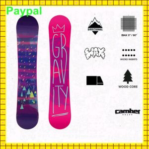 PE Material Durable Professional OEM Snowboard (gc-n20) pictures & photos