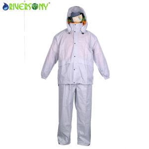 Nylon PVC Rainsuit pictures & photos