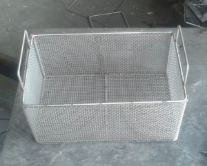 Stainless Steel Basket with Hand pictures & photos