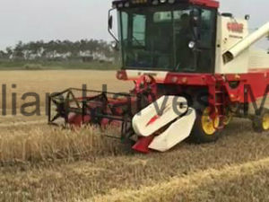 6 Kgs Feed Quantity Wheat Grain Combine Harvester pictures & photos