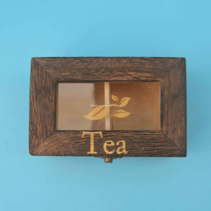 Elegant Clear Window Wooden Display Packaging pictures & photos
