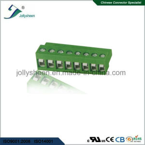 Pluggable Terminal Blocks 8pin pH5.08mm with Green Housing pictures & photos