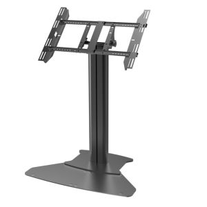 "Public TV Floor Stand Floorbase Touch Screen 32-55"" (AVA 102D) pictures & photos"