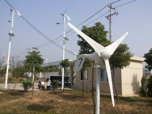 100W Horizontal Axis Wind Turbine (HAWT from 100W to 20KW) pictures & photos