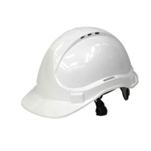 PE T Type Safety Helmet (white) pictures & photos