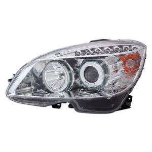 Head Lamp for Auto Parts Mercedes Benz C-Class W 204 2007-2009