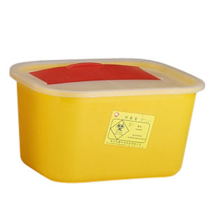 Rectangleshape Sharps Container Sharp Box Medical Waste Container pictures & photos