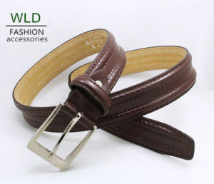 Classic and Basic Man Belt with Split Leather Linning M518 pictures & photos