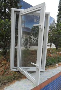 American Vinyl Casement Window with Mosquito Mesh pictures & photos