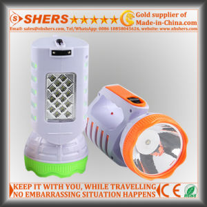 Rechargeable 1W Torch with 12 SMD LED Table Lamp (SH-1955A) pictures & photos