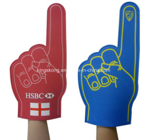 EVA Foam Cheer Hand, EVA Big Hand for Sale, Custom Foam Hand pictures & photos