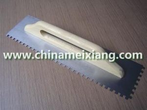 18x5′′ Hanger Wood Handle Trowel, Construction Trowel, Finish Trowel (MX9013) pictures & photos