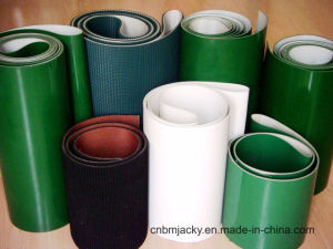 PVC PU Conveyor Belt for Wood Industry/Airport/Food Industry/Textile/Treadmill pictures & photos