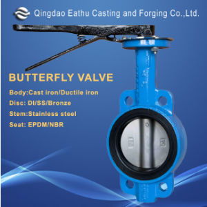 Cast Iron Butterfly Valve pictures & photos