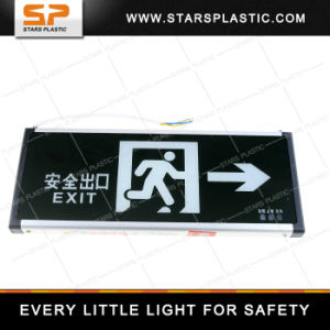 EL-A57-Single-Right Fire Emergency Light Acrylic Emergency LED Exit Light pictures & photos
