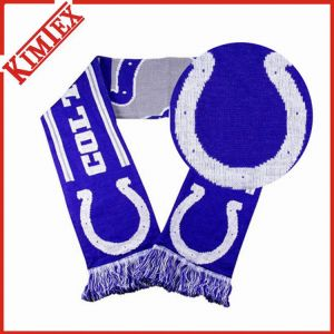 Single Layer Jacquard Woven Rally Scarf (kimtex-352) pictures & photos