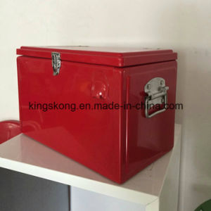 20L Red Color Metal Wine Cooler Box with Handle pictures & photos