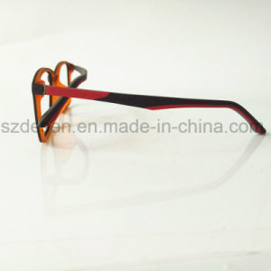 Fashion Full Rim Tr90 Optical Glasses Frame with Colorful Temple pictures & photos