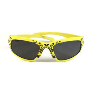 Fashion Plastic Frame Sunglasses for Kids