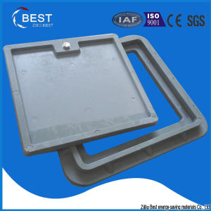 300X300 Square SMC Manhole Cover with Grey Color pictures & photos