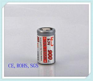 Li-ion 18350-900mAh, Flat Head, High Power Battery, Audio, Battery Pack, E-Cigarette Li Ion Battery,