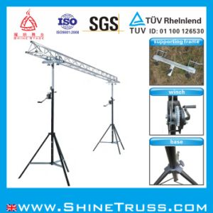 DJ Truss Lifting Stand Hand Winch Stand pictures & photos