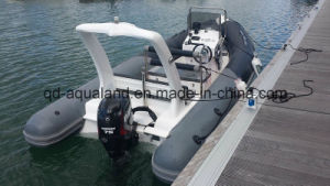Aqualand 14.5 Feet 5.4m Rib Fishing Boat/Rigid Inflatable Motor Boat (RIB540B) pictures & photos