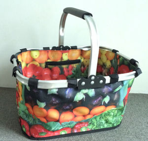 Vegetable Printing Design Shopping Basket pictures & photos