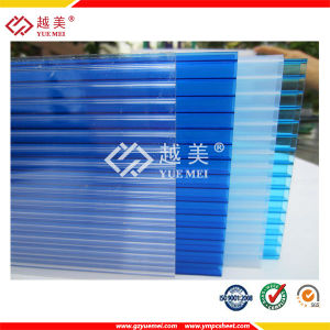 Policarbonato Alveolar Polycarbonate Hollow Sheet PC Sun Sheet Polycarbonate Panels pictures & photos