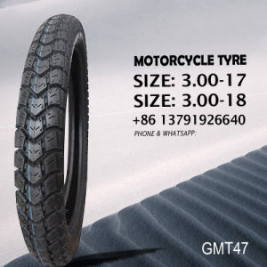 Motorcycle Tyre / Tire Heavy Duty 3.00-17 3.00-18 pictures & photos