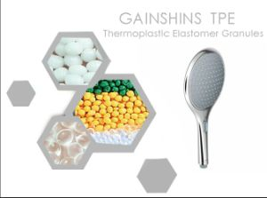 Gainshine Natural Color TPE Material for PP&Shower Encapsulation