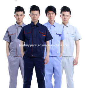 Custom Short Sleeve Workwear, Work Uniforms (LA-A012) pictures & photos