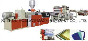 PP\PE\PVC\PS\ABS Board & Sheet Extrusion Line pictures & photos