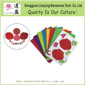 Colored Polyester Felt Craft Sheets Die Cutting Felt