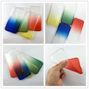 Promotional Bulk Mobile Phone Cases for iPhone/Samsung in Gradient Colors pictures & photos