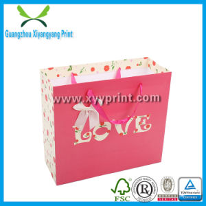 Low Price Custom Paper Shopping Bag with High Quality pictures & photos